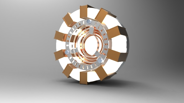 Ironman's arc reactor