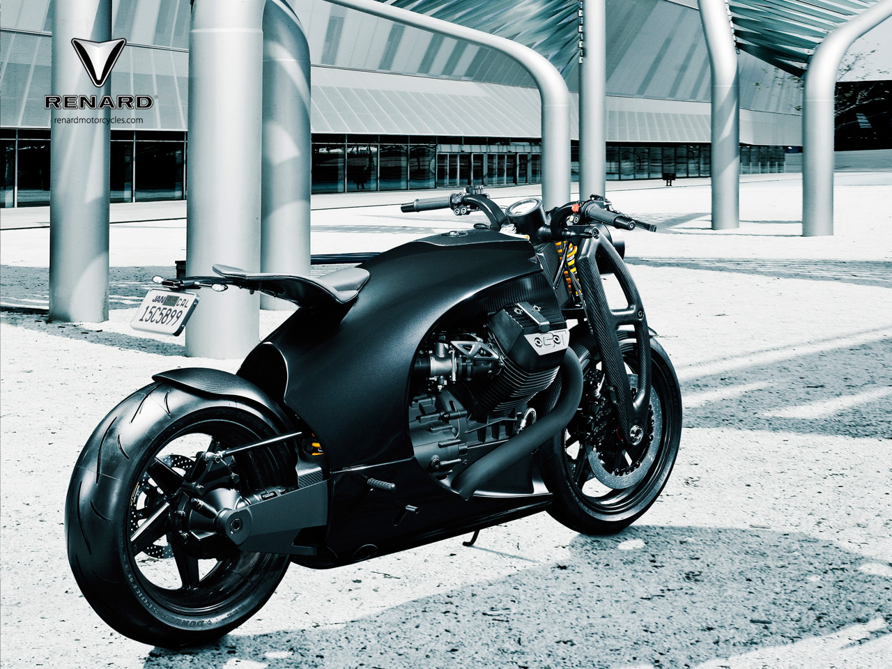 Renard Motorcycle A Carbon Fiber Dream Machine Grabcad