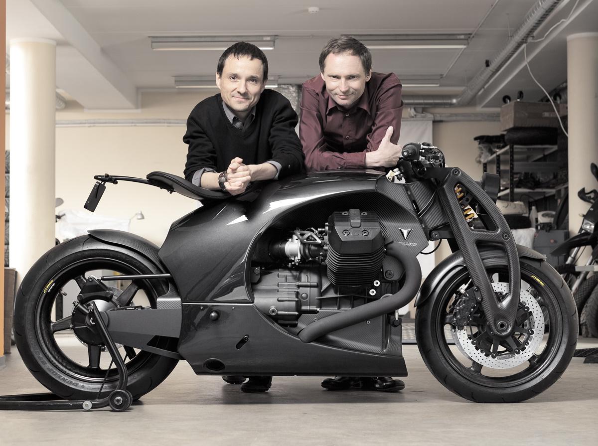 Dream Machine Motorcycles Kaarel Kivikangur and Andres