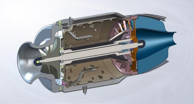 RC turbine engine - GrabCAD Blog