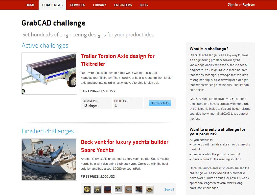GrabCAD challenge