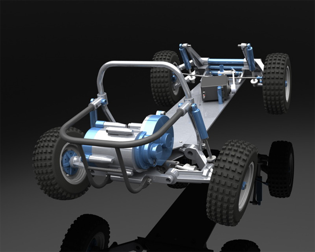 5 incredibly detailed r c car cad models Cad models