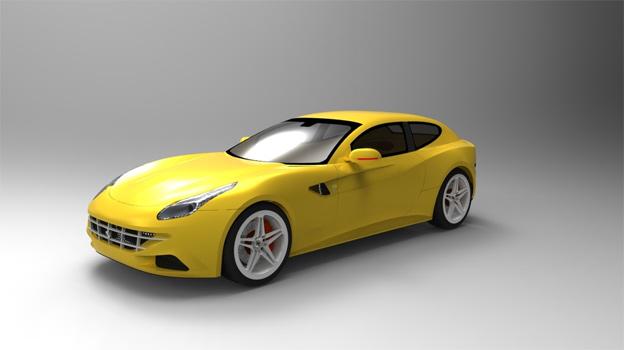 Ferrari-ff-model
