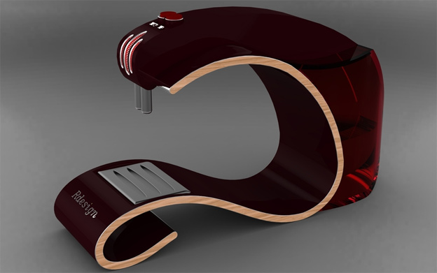 coffee-maker concept model