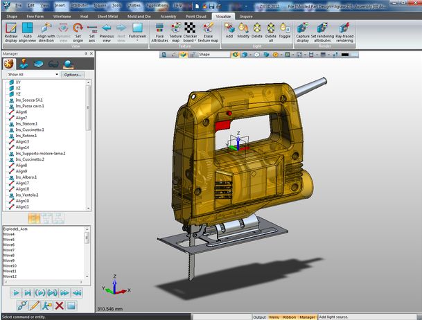 3D CAD Modeling Challenge Using ZW3D CAD/CAM Software