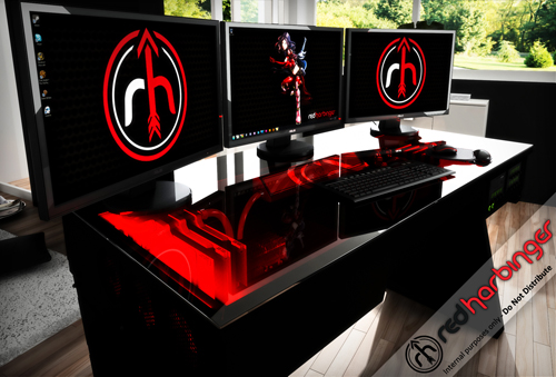 the red harbinger - the ultimate cad workstation - grabcad news