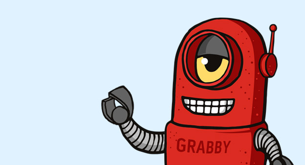 Say hello to Grabby the Bot our GrabCAD Mascot
