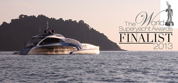 Superyacht  design Awards finalist