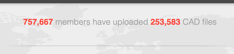 250K CAD Files on GrabCAD