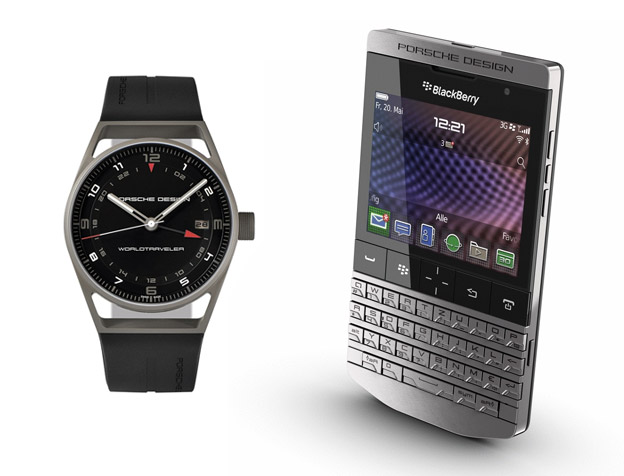 Porsche Design - watch and phone