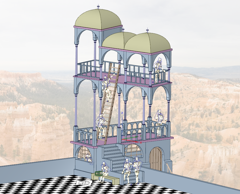 See Belvedere in 3D on GrabCAD