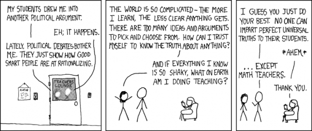 CAD lessons pic, Certainty by XKCD.com