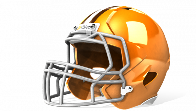 Football Helmet SolidWorks Rendering STEP / IGES Other By Jordan Tadic