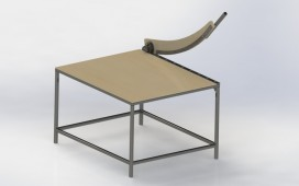 sheet metal guillotine shears ( wood-steel ) Rendering SolidWorks 2012 STEP / IGES Other By Marcus