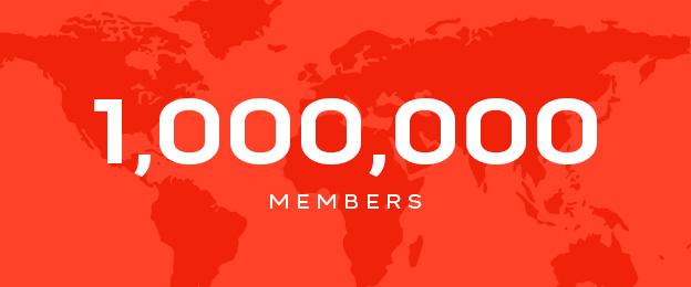 one-million-members