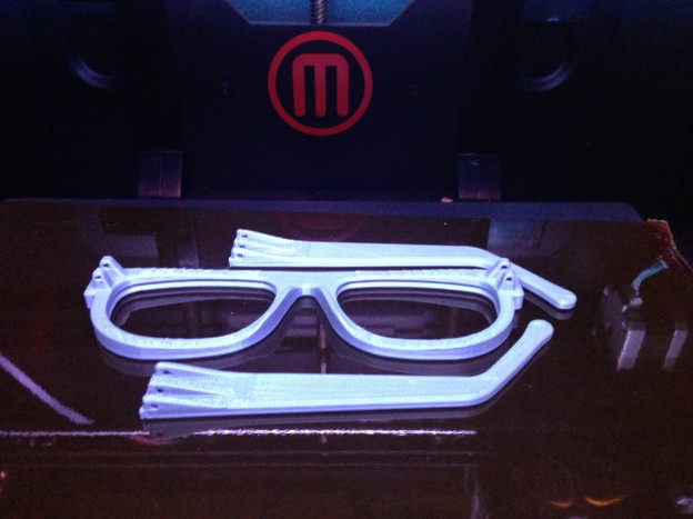 Dreambox 3D Printed Glasses on GrabCAD