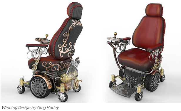 Steampunk Wheelchair On Fast Company And Indiegogo