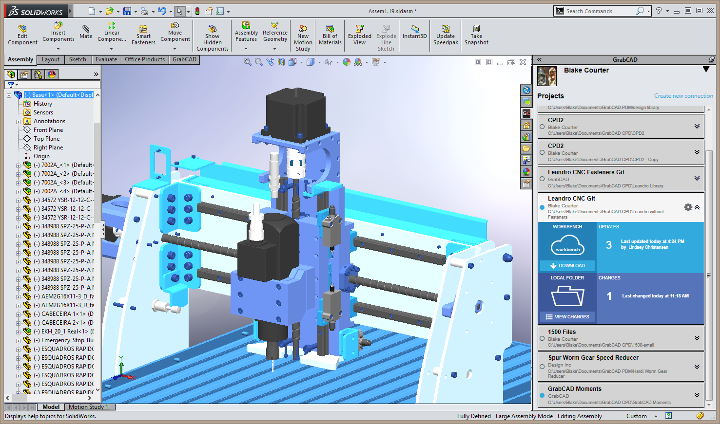 Grabcad workbench file management features out of beta Cad system