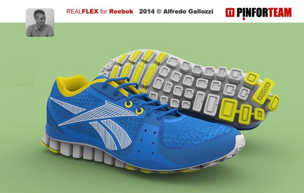 REEBOK RF by Alfredo Gallozzi, PinforGC Team on GrabCAD