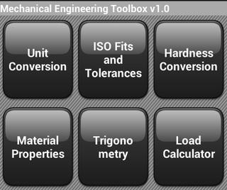Mechanical Engineering Toolbox