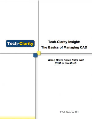 Tech-Clarity's Expert Guide to Basic CAD Management