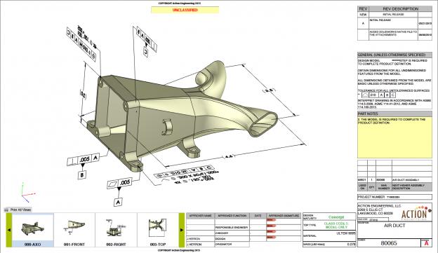 Air Duct 3D PDF