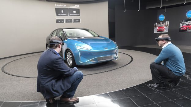 ford uses augmented reality for new vehicle design tool