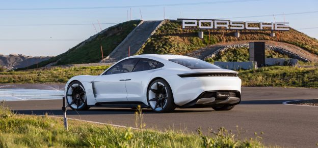 The Porsche Mission E Which Will Be Known As Taycan When Car Is Expected To Hit Market In 2019 Renowned Automaker S First Fully
